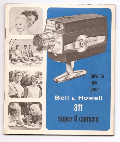 Bell & Howell 311 camera manual cover