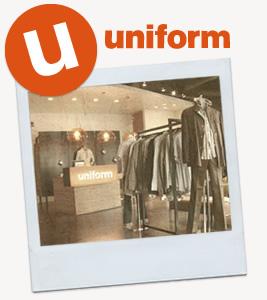 Uniform blog header