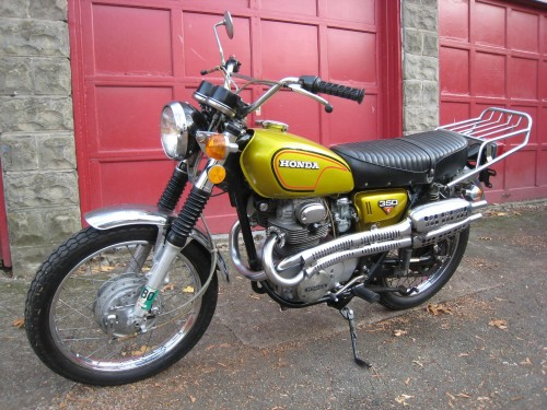 1972 Honda CL 350