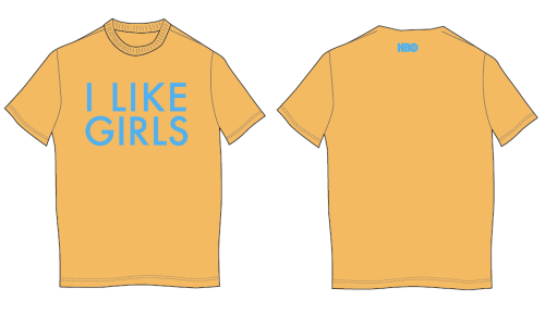 I Like GIRLS - shirt