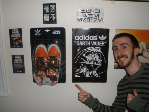 My shoes on my wall