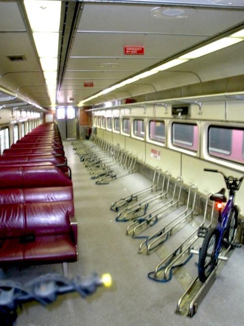 Commuter Rail Bike Rack