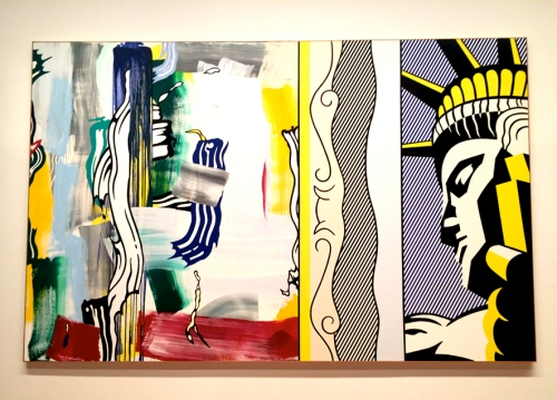 RoyLichtenstein_PaintingWithStatueOfLiberty